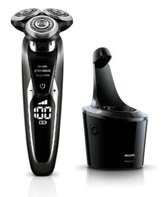 Maquina de afeitar Philips S9711 estación de limpieza
